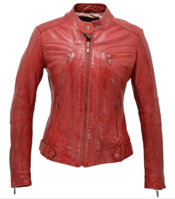 2_blouson-femme-cuir-rouge
