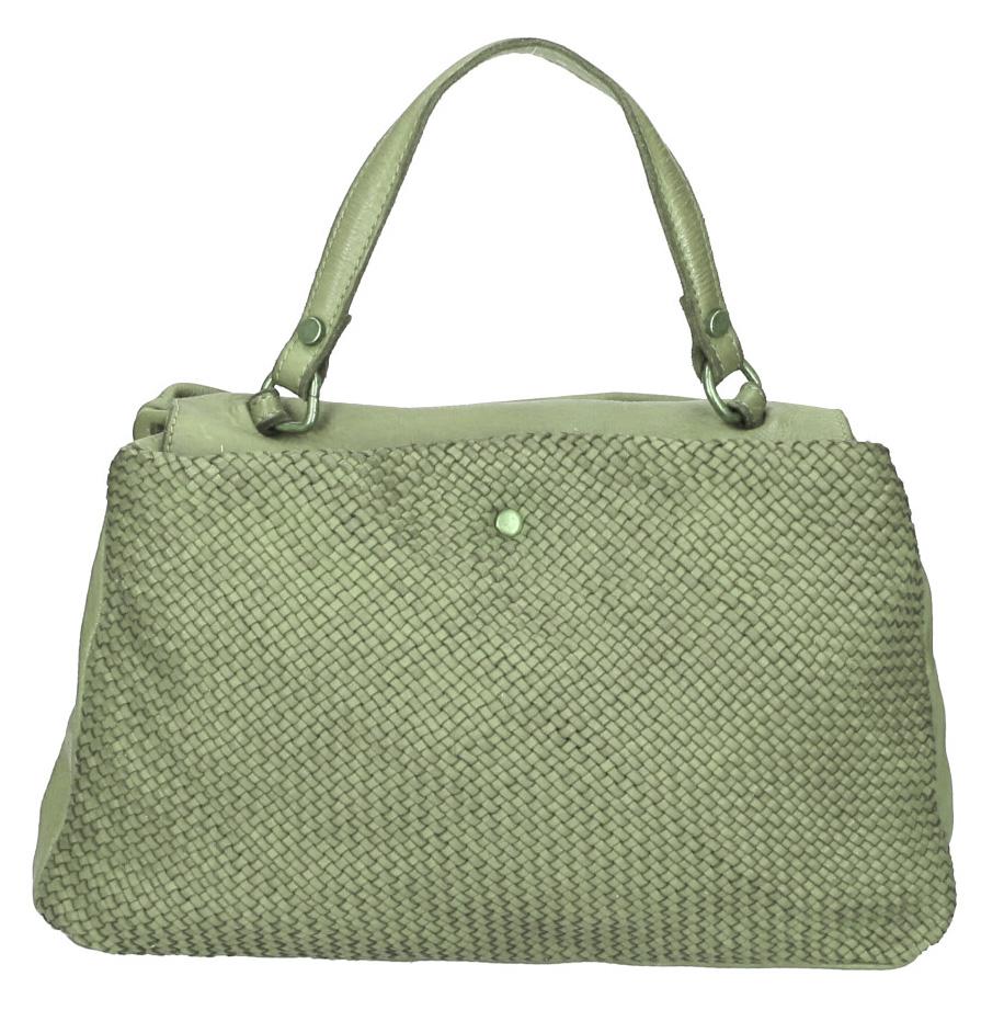 Vêtement en cuir Maroquinerie femme vert