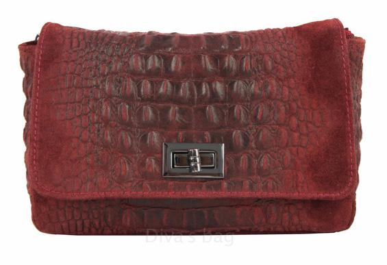Vêtement en cuir Maroquinerie femme bordeaux
