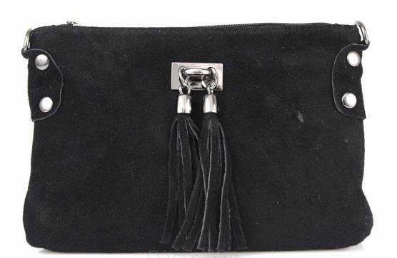Vêtement en cuir Maroquinerie femme noir