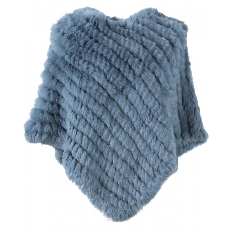 Vêtement en cuir Gilets cuir & fourrure  bleu
