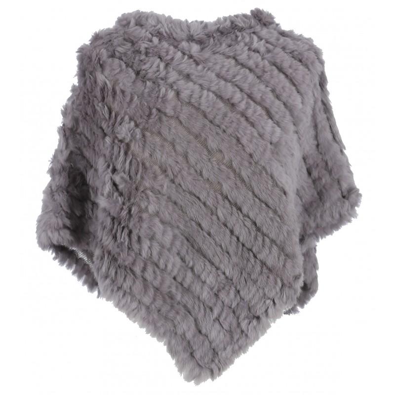 Vêtement en cuir Gilets cuir & fourrure  gris