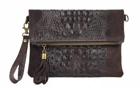 Vêtement en cuir Maroquinerie femme marron
