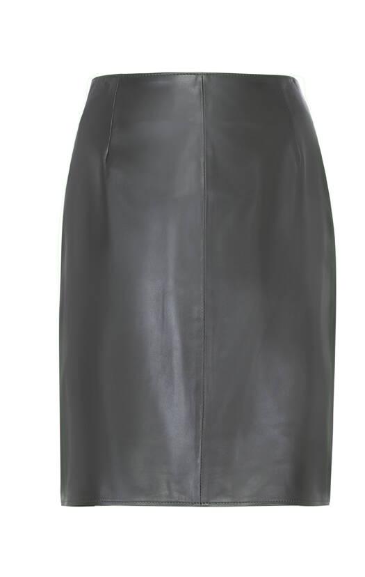 Vêtement en cuir Robes & jupes cuir kaki