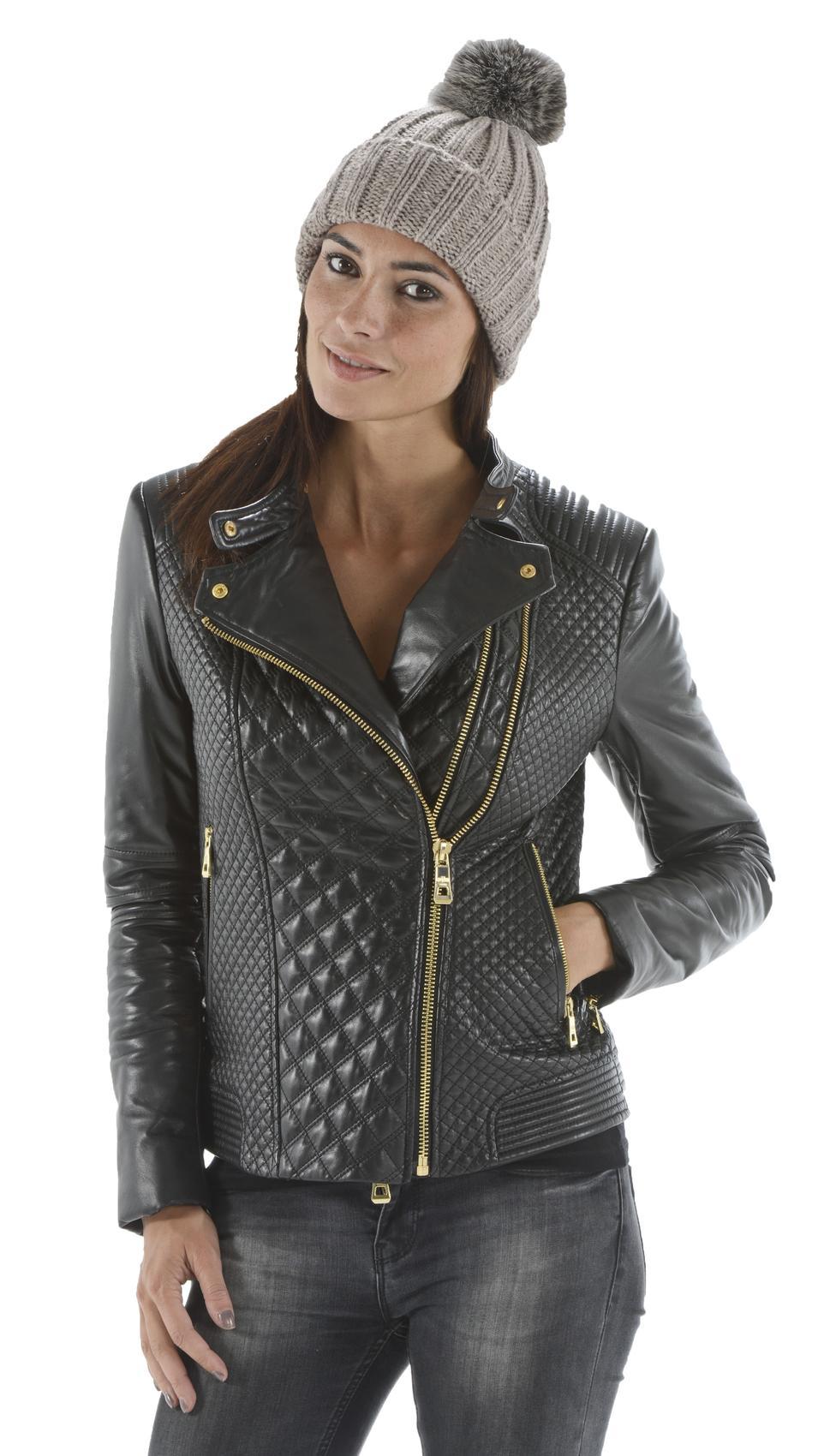 Vêtement en cuir Accessoires taupe