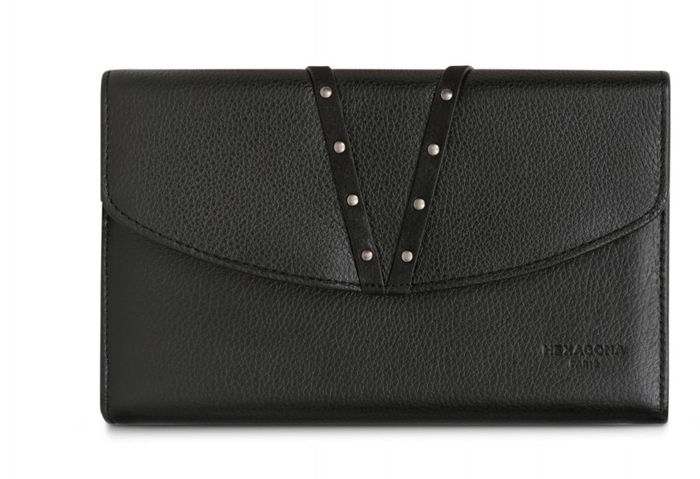 Vêtement en cuir Maroquinerie noir