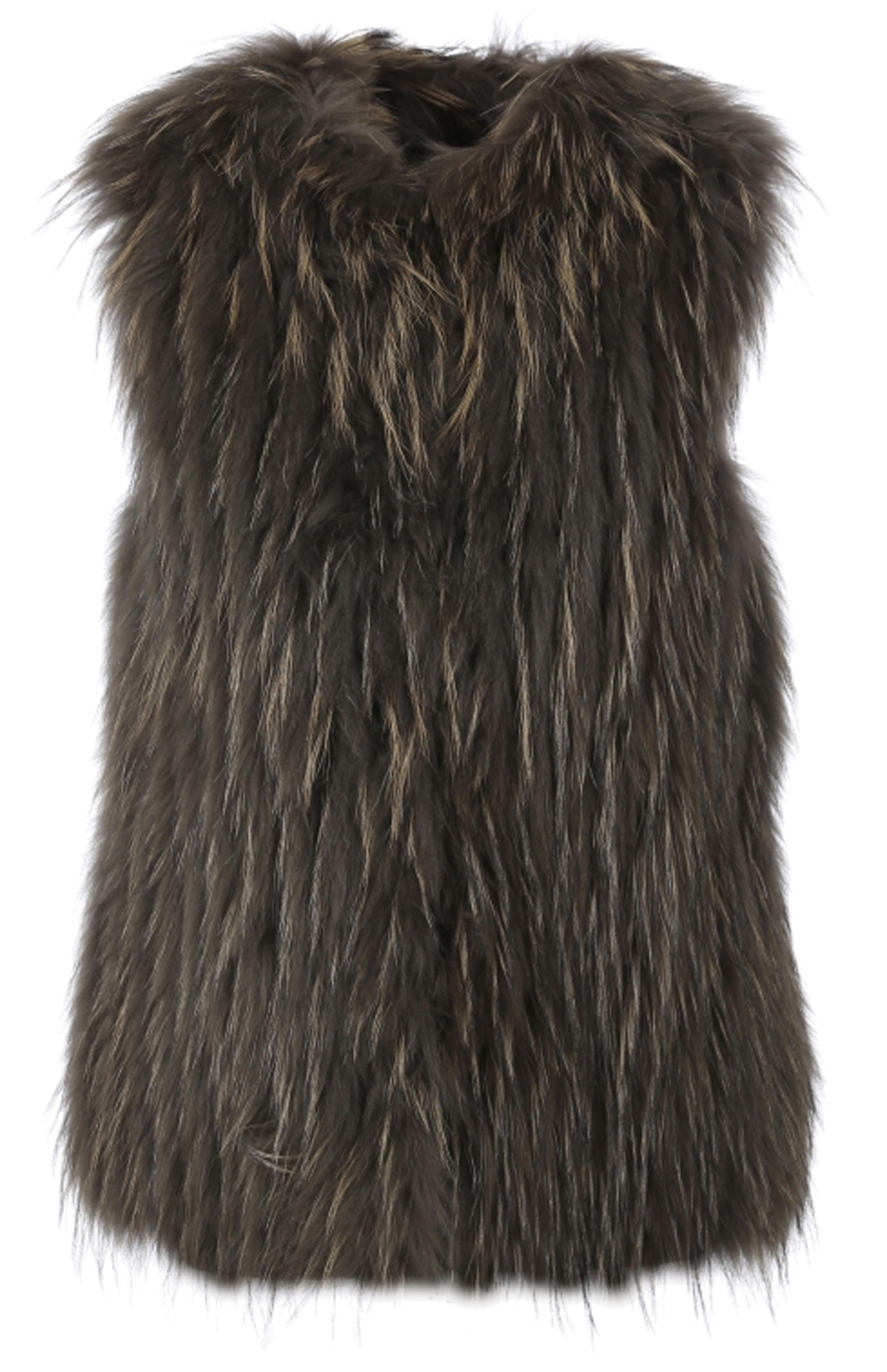 Vêtement en cuir Gilets cuir & fourrure  vert