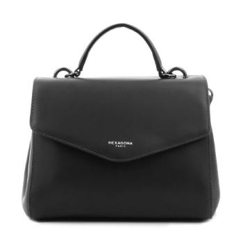sac à main noir en cuir