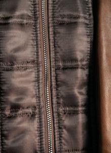 Vêtement en cuir Vestes & Trois Quart cuir camel