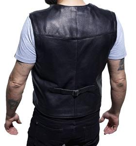Vêtement en cuir Gilets Cuir & Textile noir