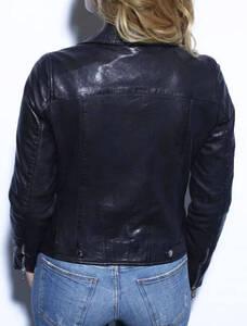 Vêtement en cuir Blousons cuir noir