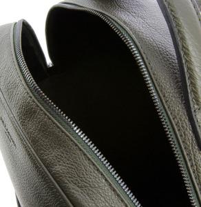 Vêtement en cuir Maroquinerie homme kaki