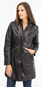 Vêtement en cuir Manteaux cuir noir