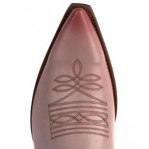 Vêtement en cuir Santiags homme rose