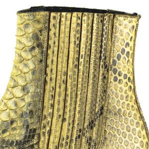 Vêtement en cuir Santiags homme camel