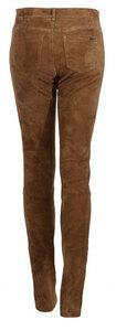 Vêtement en cuir Pantalon cuir fauve