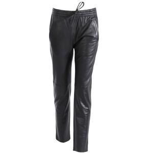 Vêtement en cuir Pantalon cuir noir