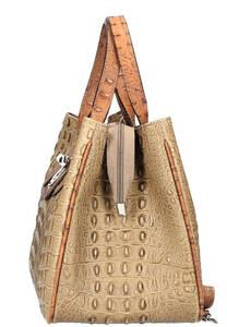 Vêtement en cuir Maroquinerie femme taupe, cognac