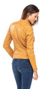 Vêtement en cuir Les bonnes affaires Femme camel