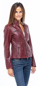 Vêtement en cuir Les bonnes affaires Femme rouge
