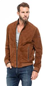 Vêtement en cuir Les bonnes affaires Homme camel