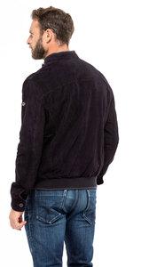 Vêtement en cuir Les bonnes affaires Homme bleu