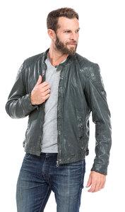Vêtement en cuir Les bonnes affaires Homme vert