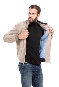 Vêtement en cuir Les bonnes affaires Homme beige