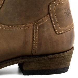 Vêtement en cuir Santiags homme marron
