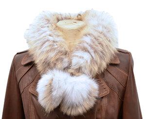 Vêtement en cuir Accessoires beige