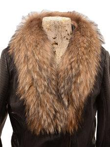 Vêtement en cuir Accessoires camel