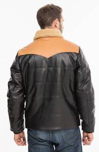 Vêtement en cuir Vestes & Trois Quart cuir noir