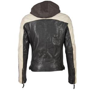 Vêtement en cuir Blousons cuir noir, blanc