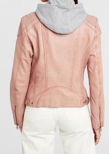 Vêtement en cuir Blousons cuir rose