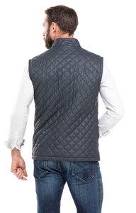 Vêtement en cuir Gilets Cuir & Textile bleu