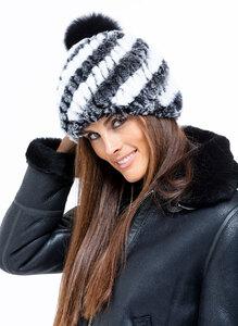 Vêtement en cuir Accessoires noir, blanc, gris