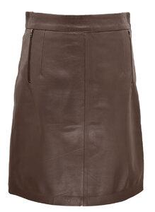 Vêtement en cuir Robes & jupes cuir marron