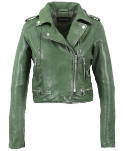Vêtement en cuir Blousons cuir vert
