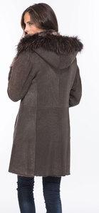 Vêtement en cuir Manteaux cuir marron
