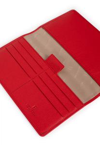 Vêtement en cuir Maroquinerie rouge