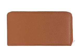Vêtement en cuir Maroquinerie marron, cognac