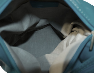 Vêtement en cuir Maroquinerie femme bleu