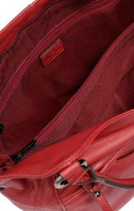 Vêtement en cuir Maroquinerie femme rouge