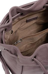 Vêtement en cuir Maroquinerie femme gris, rose