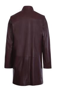 Vêtement en cuir Manteaux cuir bordeaux