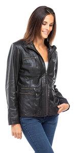 Vêtement en cuir Vestes cuir noir