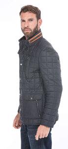 Vêtement en cuir Vestes & Trois Quart cuir bleu