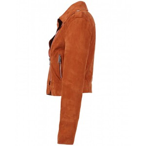 Vêtement en cuir Blousons cuir camel